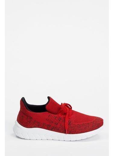 Defacto –Fit Bağcıklı Aktif Spor Ayakkabı Kırmızı